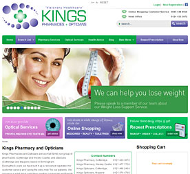 Kings Pharmacy and Opticians